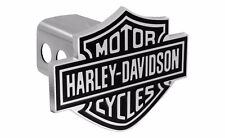 "Harley Davidson 3D Bar & Shield Trailer Tow Hitch Cover Plug Cap 2"" Inch Post"