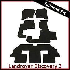 Landrover Discovery 3 7Seater Tailored Fitted Car Mat 1 Clip