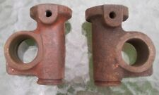 Morris Minor Pair of Top Upper Trunnion Trunnions FREE UK POSTAGE