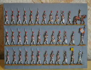 Plats d'étain flat tin Zinnfiguren SEGOM 3ème Régiment de Grenadiers hollandais