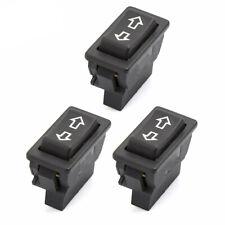 3x Universal 5 Pin Onoff Spst Momentary Power Window Rocker Switch Controller