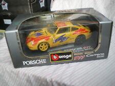 1/18 Porsche 911 993 Carrera Racing Cup 1993 Shell #1 Burago Neuf Boite 3360