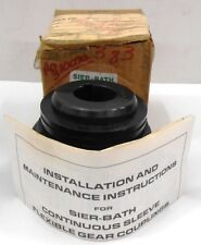 "Torrington, Sier-Bath Continuous Sleeve Flex Gear Couplings, C-2, 1-5/8"" Bore"