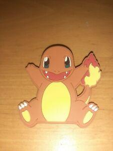 Nintendo Pokemon Charmander Character Rubber Plush Badge