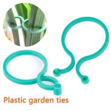 20Pcs/Set Ring Flower Bush Vine Holder Tie Garden Plant Cable Support Clips YK