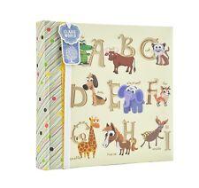 Large Baby Alphabet Slip in Case Photo Album for 200 Photos (10cm X 15cm ). Bran