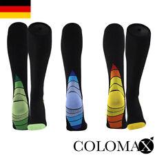 COLOMAX Hochwertige Kompressionsstrümpfe für Damen und Herren Reisesocken
