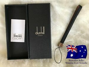 Dunhill Chassis Men's Luxury Leather Black Car keychain Gift
