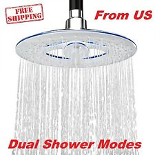 Waterfall Shower Head Sprayer Rain Overhead Bathroom Body Massage High Pressure