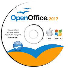 NEW 2017 Office Software-Word Process-Spreadsheet-Document-Microsoft Windows-Mac