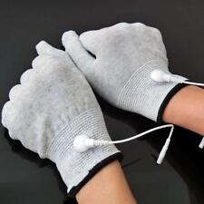1pair Conductive Electrotherapy Massage Electrode Gloves Use With Tens Machine