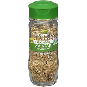 McCormick Gourmet Organic Zaatar Seasoning, Non-GMO 1.25 Ounce