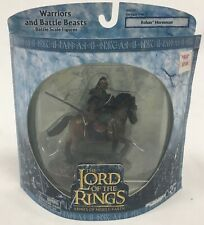 The Lord Of The Rings Rohan Horseman Warriors And Battle Beasts Play Along New