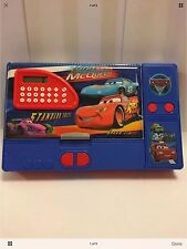 Disney rey vs McQueen Coches con la calculadora & Llavero Regalo de cumpleaños Caja de Lápiz
