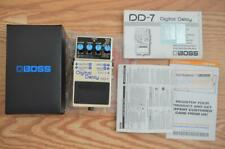 Boss DD-7 Stereo Digital Delay Guitar Effects Pedal - DD7 w/ Box & Swag