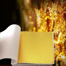 500* Goldfolie Blatt Blatt für Kunst Handwerk Design Vergoldung·Framing 8X8.5CM*