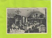 LYGON ARMS - DINING ROOM -    BROADWAY  - WORCESTER  ( 58B )