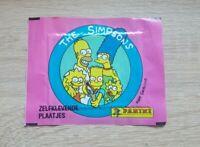 Panini 1 Tüte The Simpsons Bustina Pack Sobres Packet Zelfklevende Plaatjes