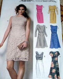 *NEW DRESS VOGUE Sewing Pattern 16-28-20-22-24 UNCUT 8949