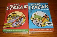 Silver Streak Daredevil Archives Volume 1 + 2, SEALED, Dark Horse Comics, HCs