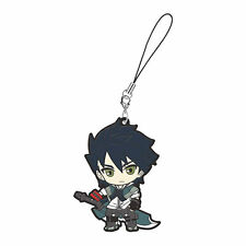 God Eater Mascot Swing PVC Keychain Lenka Utsugi Strap Charm @97073