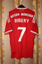 BAYERN MUNCHEN RIBERY 2013/2014 HOME FOOTBALL SHIRT JERSEY TRIKOT 7  ADIDAS