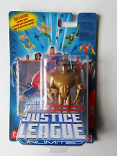 DC Universe Justice League Unlimited Amazo Gold NEW