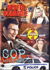 Mister Scarface / Cop In Blue Jeans  Movie Set DVD New 2003 Jack Palance