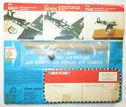 "Vintage 1977 Flight Action F4U-IA Corsair ""Mail A Plane"" Flying Glider Power Kit"