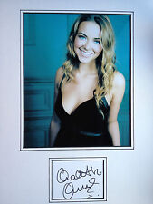 CHARLOTTE CHURCH - CHART TOPPING SINGER - STUNNING SIGNED PHOTO DISPLAY