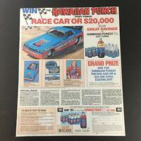 VTG Retro 1984 Hawaiian Punch Fruit Punch Soft Drink Print Ad Coupon