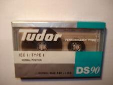 VINTAGE TUDOR DS90 / BLANK AUDIO CASSETTE TAPE - BRAND NEW & FACTORY SEALED