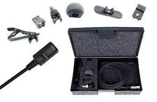 Tram TR50 BML+ Black Lavalier Microphone W TA5f For Lectrosonics Wireless
