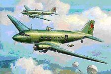 Zvezda 1/200 LI-2 o DC3 Kit plástico de aviones de transporte de Dakota