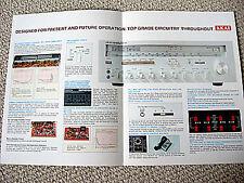 Akai AS-1070 receiver brochure catalogue
