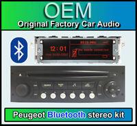 Peugeot 207 Bluetooth stereo, Peugeot AUX USB radio, Display Screen, Microphone