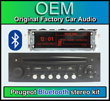 Peugeot 207 Bluetooth stereo, Peugeot AUX USB RADIO, DISPLAY, microfono