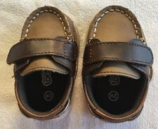 Teeny Toes Benton Baby Loafer Semi Casual Brown Dress Shoe
