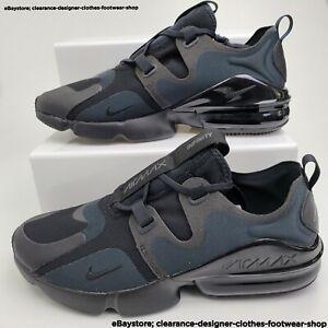 Nike Air Max Infinity Trainers Triple Black Training Cross Fit Sneakers RRP£110