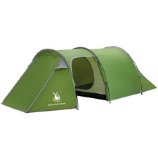 4-5 Outdoor Cabin Tunnel Dome Tent Waterproof Backpacking Trip Hiking