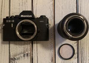 Vintage Mamiya ZE-2 Quartz Camera W/ Osawa MC 70-140 mm Photography