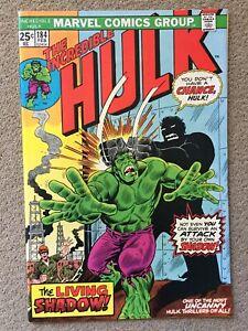 The Incredible Hulk #184 (1975) vs Living Shadow Bronze Age NM- MVS Intact!