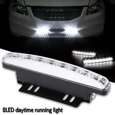 Universal 8 LED Car Driving Light Daylight Waterproof Daytime Running Head Lamp