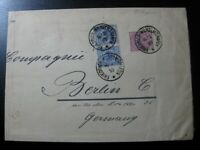 NEW-GUINEA GERMAN COLONY 1893 rare forerunner cover w/ nice cancel! CV $4,300.00