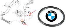 BMW E46 E90 E92 ORIGNALE GUARNIZIONE INTERCOOLER MANICOTTO ARIA TUBO 11617791235