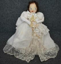 Cir 1940S Neiman Marcus Exclusive Package Decoration Angel Christmas Tree Topper
