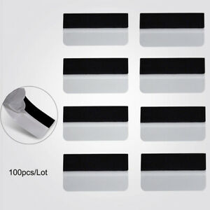 100 Pcs White Avery Edge Squeegee Scraper for Car Vinyl Wrapping Soft Plastic
