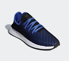 NEW - Adidas Deerupt Running Men's Shoe Trainer Sneaker - Blue Black - US 11.5