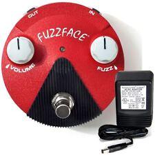 Dunlop FFM6 Hendrix Band of Gypsies Fuzz Face mini pedal w/ 9v power supply