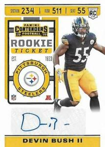 2019 Contenders Football Pick Complete Your Set #1-100 RC AUTO Parallel Inserts